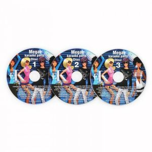 Auna Karaoke CD + G Set, sada 3 ks