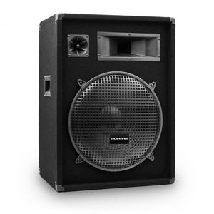 """Auna Pro PW-1522 MKII, pasivní PA reproduktor, 15"""" subwoofer, 400 W RMS/800 W max."""